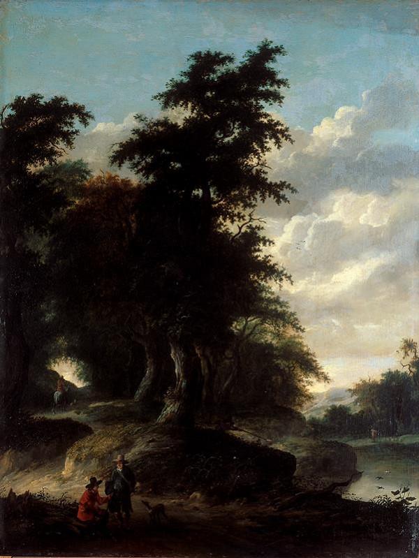 Jacob Isaakszoon van Ruisdael - Krajina