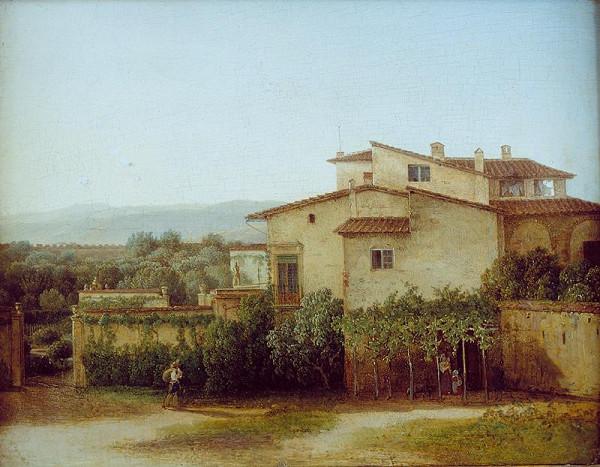 Thomas Ender - Italská krajina