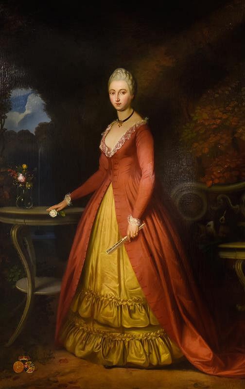 Josef Mánes - Marie Kristina Silva -Tarouca, roz. Schönborn
