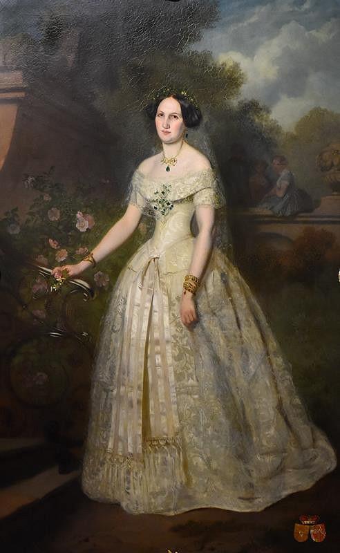 Josef Mánes – Isabela Žofie Silva -Tarouca, roz. Stolberg (1824 - 1864)