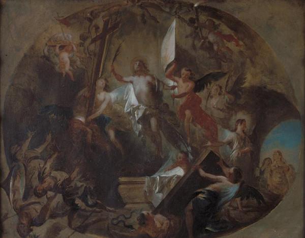 Josef Winterhalder II. (Winterhalter) - Kristus Zmrtvýchvstalý