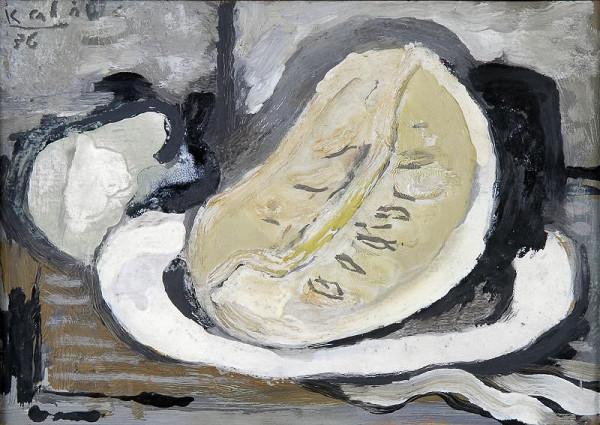 František Kaláb - Zátiší s melounem