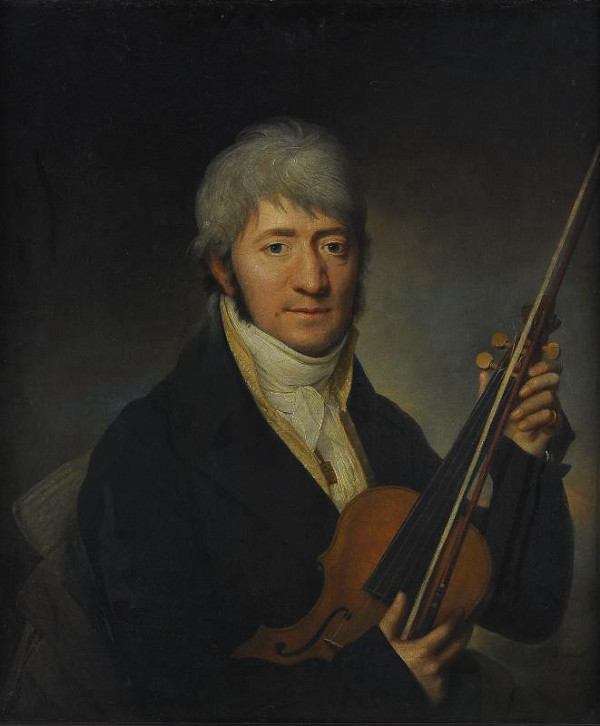Martin Ferdinand Chvátal (Quatal) – Podobizna violisty (Pierre Rode)