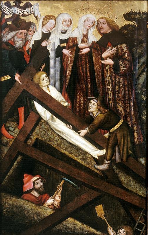 Mistr Rajhradského oltáře – Nalezení a zkoušení sv. Kříže