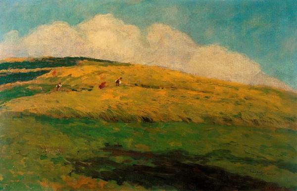 Antonín Slavíček - Krajina ve žních