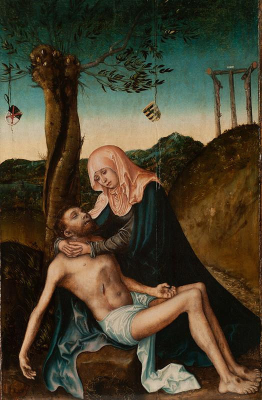 Lucas Cranach st. - Pieta