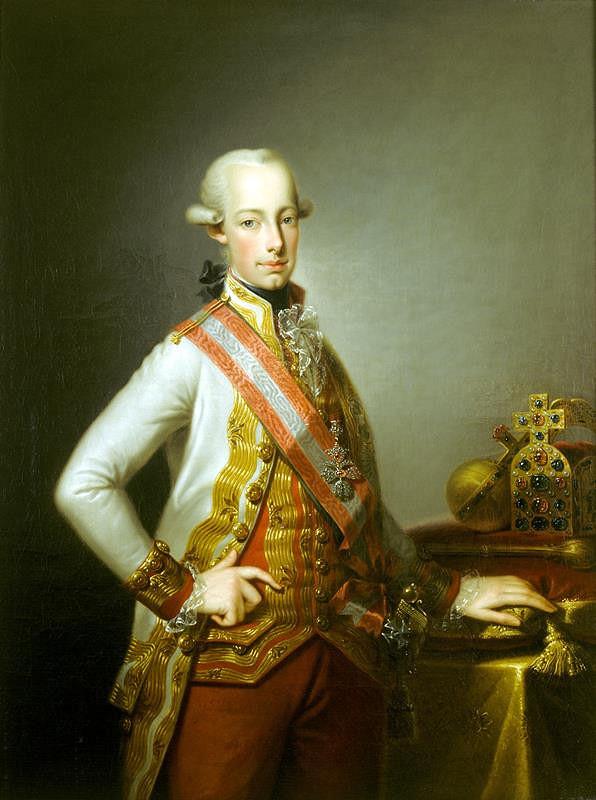 Johann Baptist Lampi ml - Podobizna císaře Františka II.(1768 - 1835)