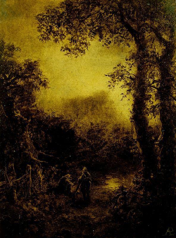 Augustin Bedřich Piepenhagen – Romantická krajina