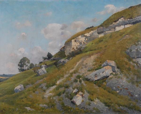 Antonín Chittussi - Krajina se skalami
