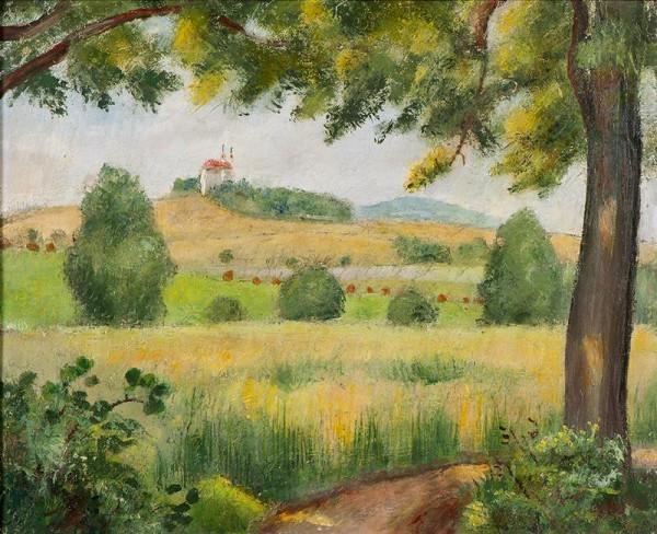 Otakar Kubín (Coubine) - Ovesné pole (sv.Jan u Telče)