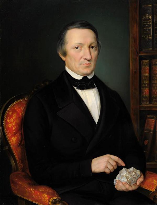 Jan Ondřej Gebhardt – Portrét profesora Albína Heinricha