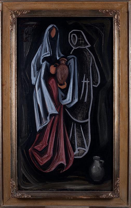 Josef Čapek - Dvě ženy se džbánky