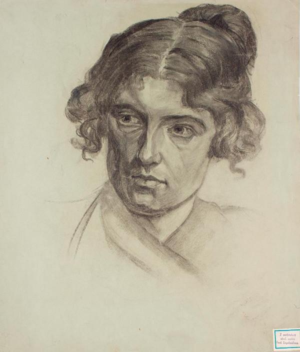 Ferdinand Engelmüller - Hlava ženy