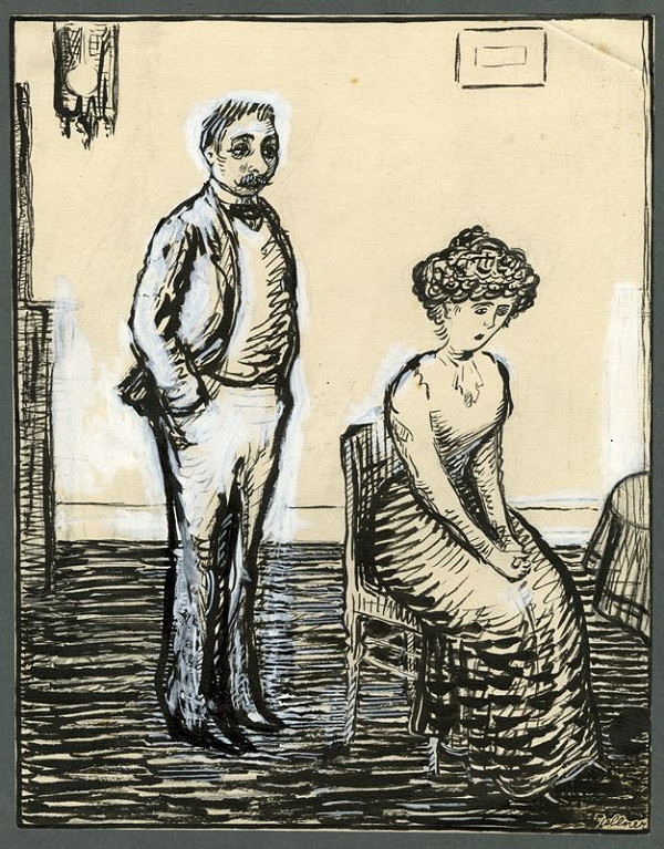 František Gellner – Manželé