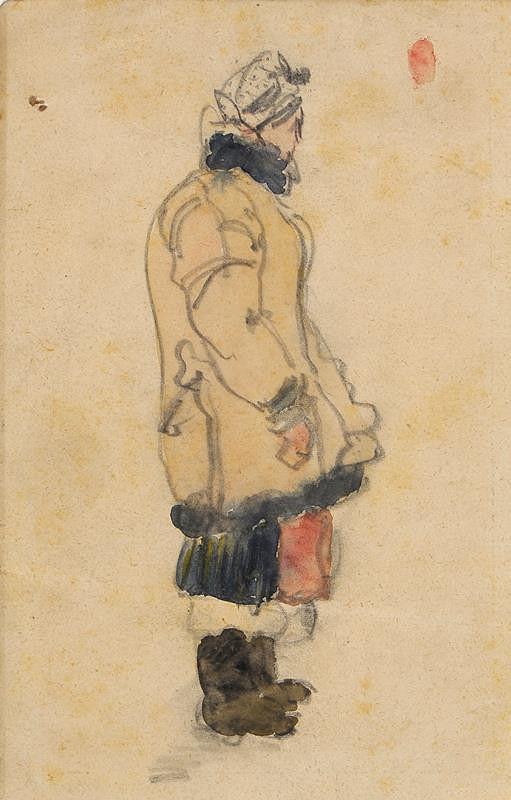 Ludvík Ehrenhaft - Žena v kožuchu
