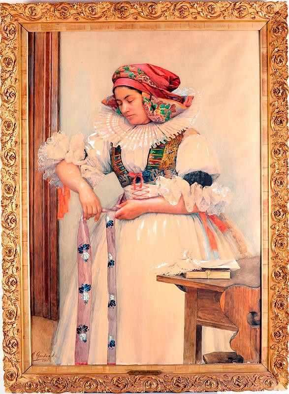 Marie Gardavská - Hanačka z Kojetína (Do kostela)