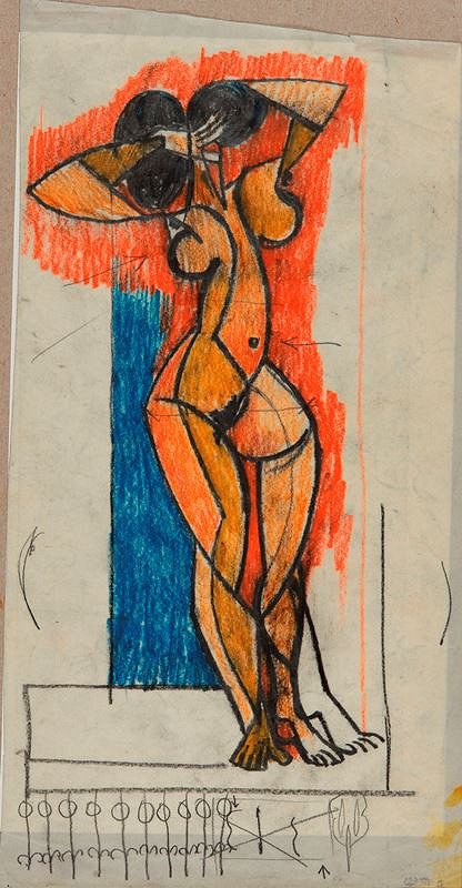 Bohumír Matal - Ženská figura