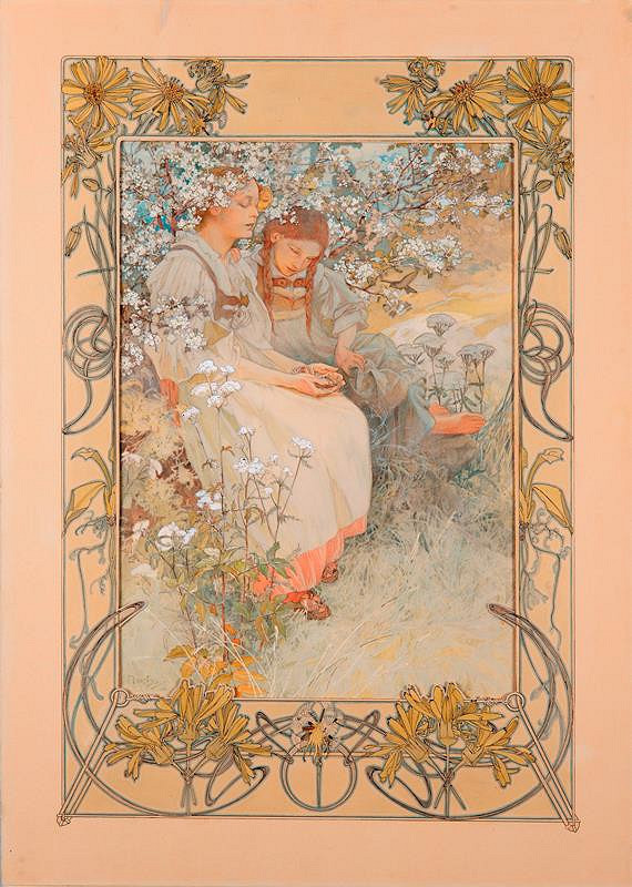 Alfons Mucha – Blahoslaveni čistého srdce