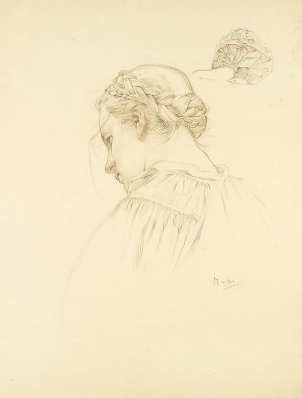 Alfons Mucha – Studie k Blahoslaveným milosrdným