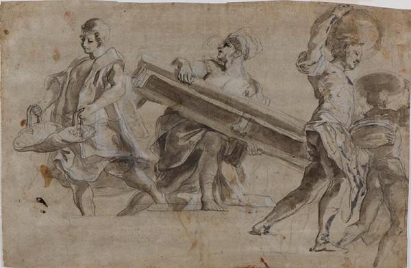 neznámý malíř italský - Figurální studie