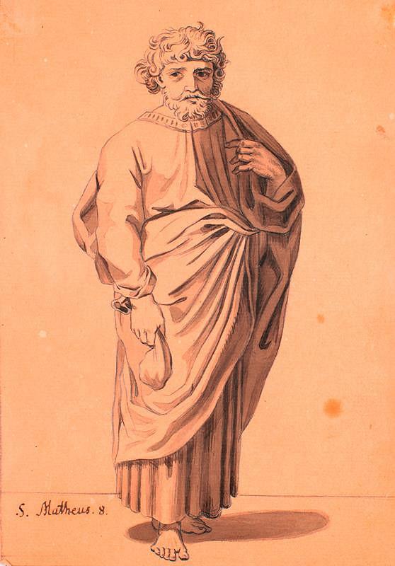 František Tkadlík (Kadlik) – Apoštol sv. Matouš Evangelista