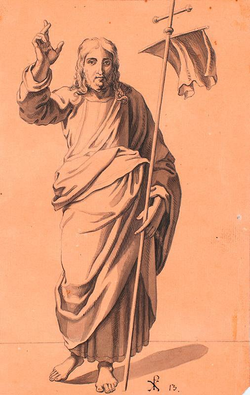 František Tkadlík (Kadlik) – Kristus