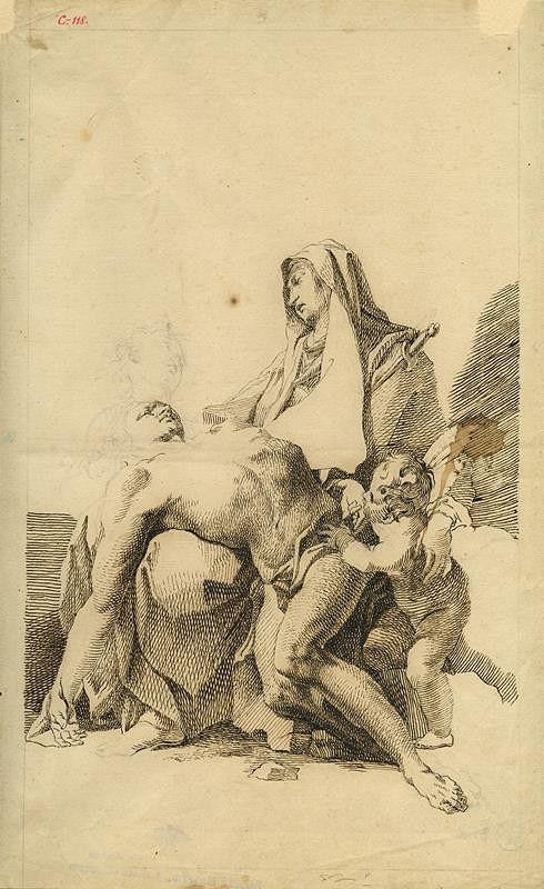Josef Winterhalder I. (Winterhalter) – Pieta