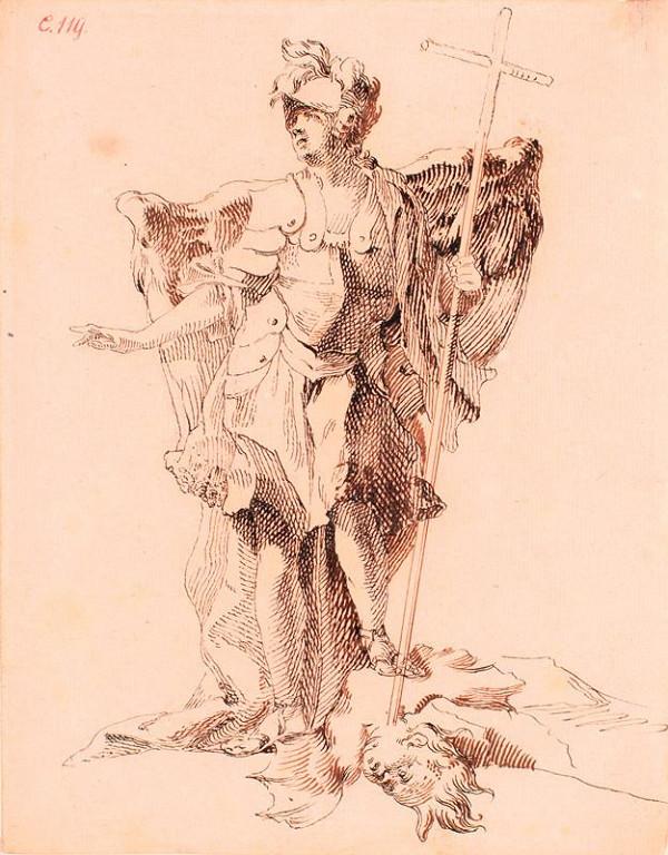 Josef Winterhalder I. (Winterhalter) - Archanděl Michael