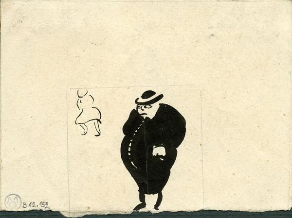 František Gellner – Karikatura