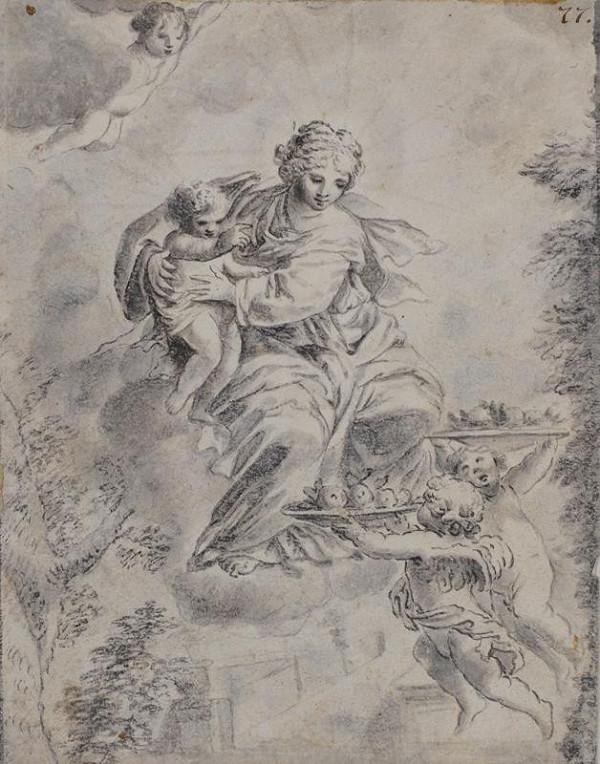 Carlo Maratti (Muratti) - podle - Panna Marie s dítětem
