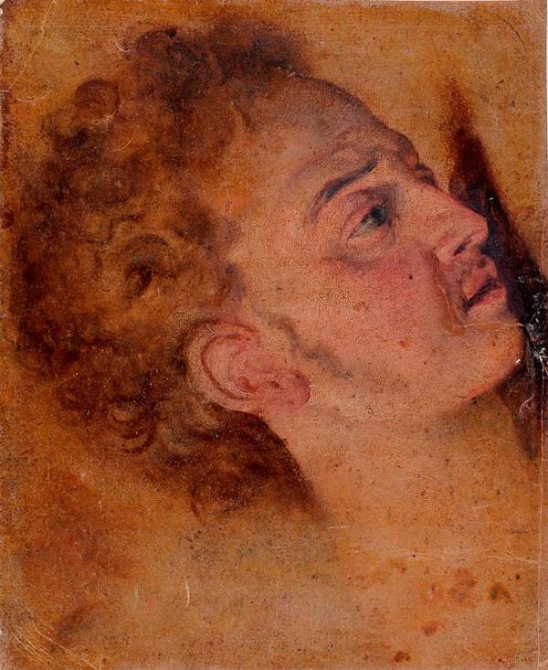 neznámý malíř italský - Hlava mladého muže
