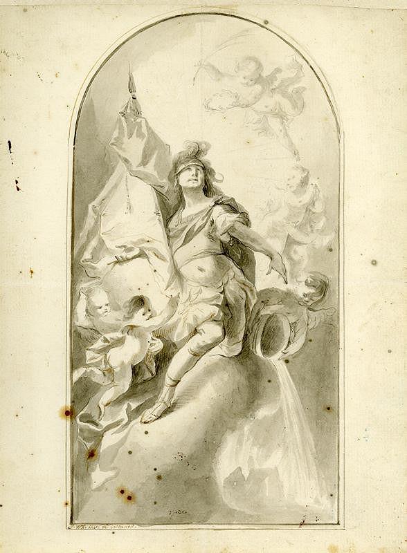Josef Winterhalder II. (Winterhalter) - Sv. Florián