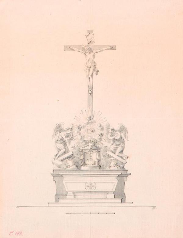 Ondřej (Andreas) Schweigl - Oltářník s krucifixem