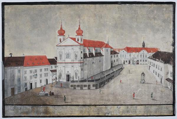 Josef Maserle - Dominikánské náměstí v Brně
