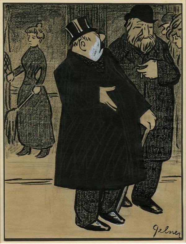 František Gellner – Karikatura I.