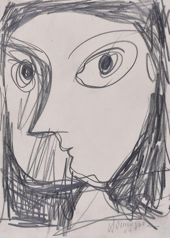 Oscar Dominguez – Hlava ženy