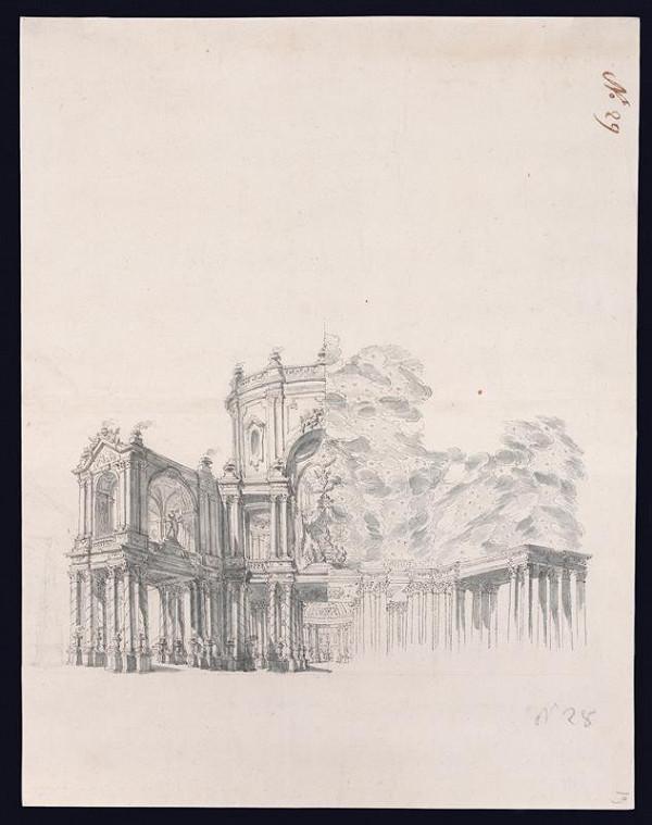 Antonio Mario Nicolao Beduzzi - Efemerální architektura