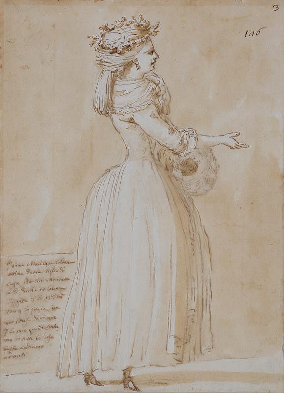 Giuseppe Barberi - Donna Marianna Colonna