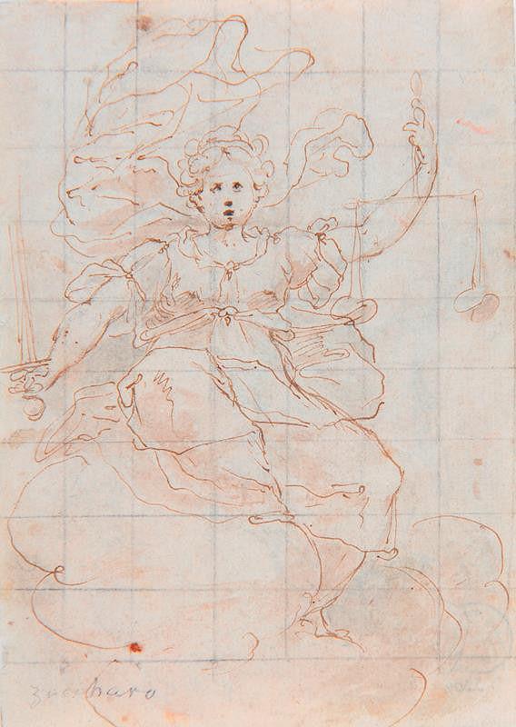 neznámý malíř florentský (?) – Justitia