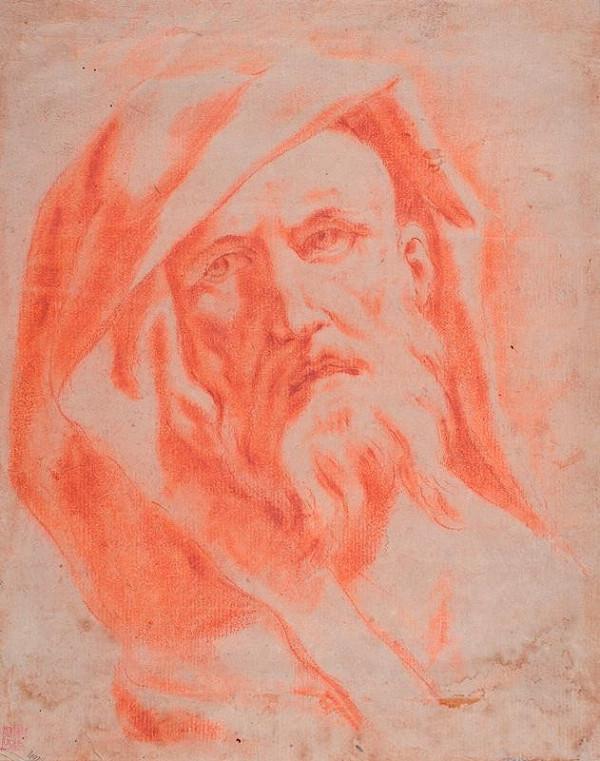 neznámý malíř italský - Hlava starce