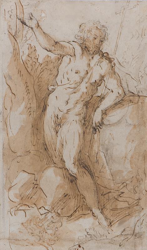 Jacopo Negretti zv. Palma il Giovane (?) – Sv. Jan Křtitel