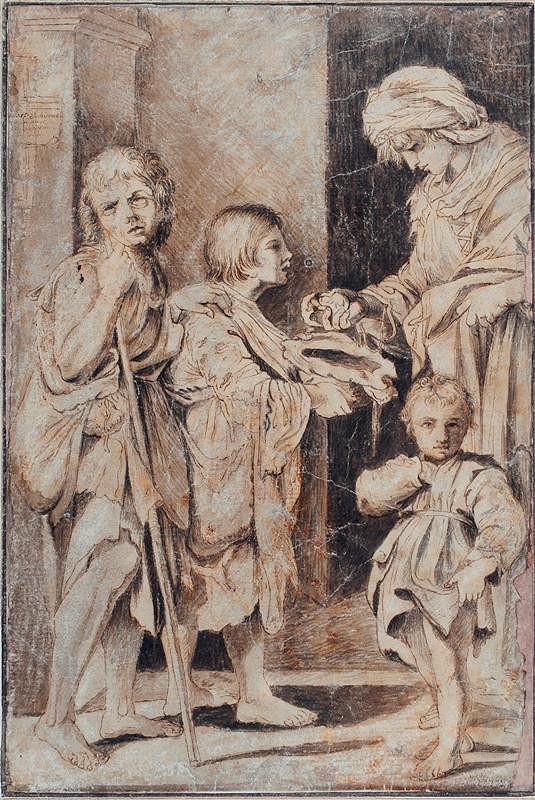 Bartolomeo Schedoni - podle – Almužna