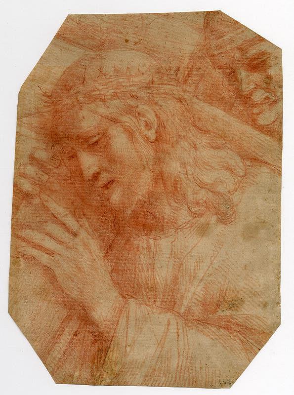 neznámý malíř lombardský (?) - Kristus nesoucí kříž