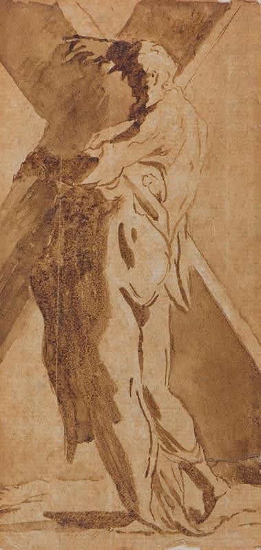 Francesco Mazzola zv. Parmigianino - podle – Sv. Ondřej