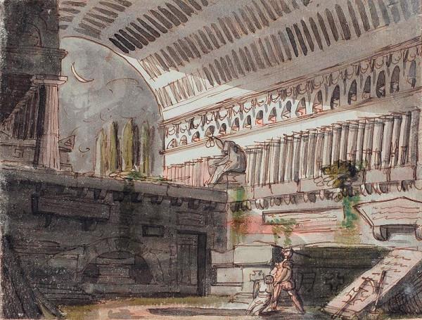 Pelagio Palagi - připsáno – Capriccio
