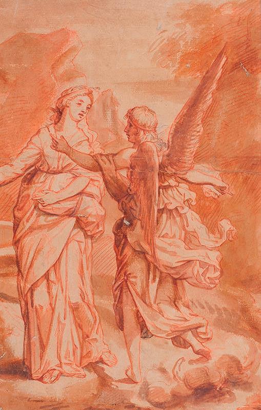 Pietro Berrettini da Cortona - podle – Zvěstování