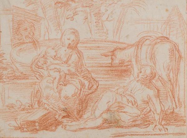 Francesco Vieira zv. Lusitano – Svatá rodina na útěku do Egypta