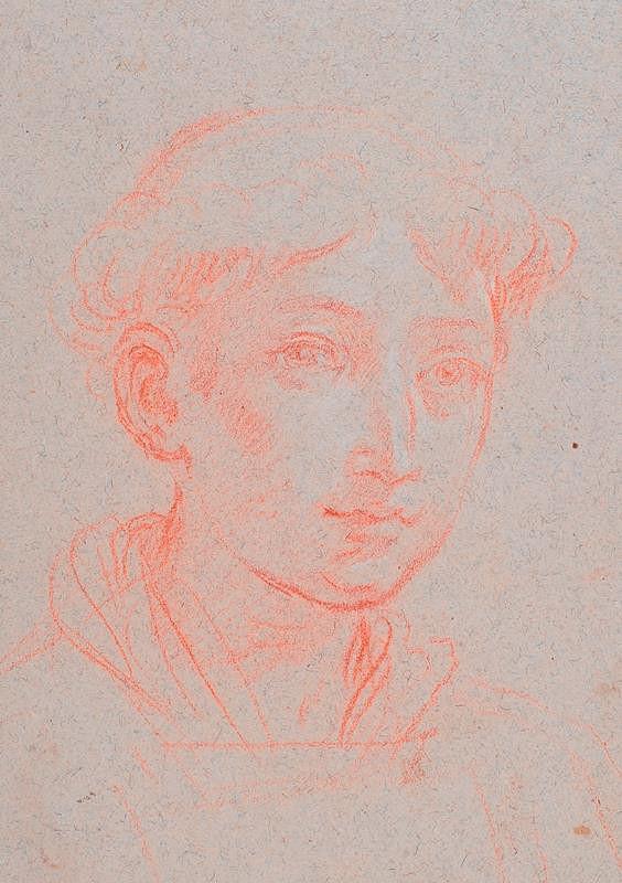 neznámý malíř italský - Portrét mladého muže v řádovém ustrojení