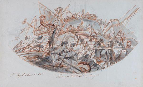 Gregorio Guglielmi – Stavba trójského přístavu