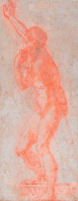 neznámý malíř florentský - Nahý mladý muž